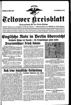 Teltower Kreisblatt vom 19.03.1935
