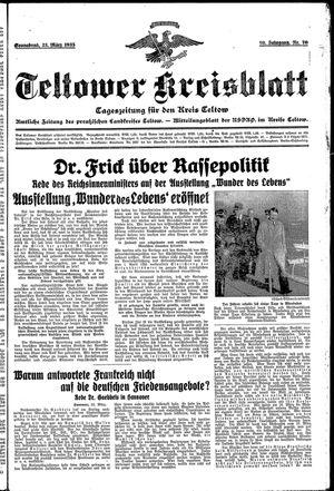 Teltower Kreisblatt vom 23.03.1935