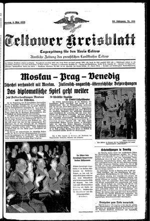 Teltower Kreisblatt vom 06.05.1935
