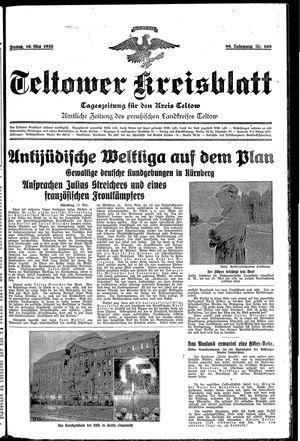 Teltower Kreisblatt vom 10.05.1935