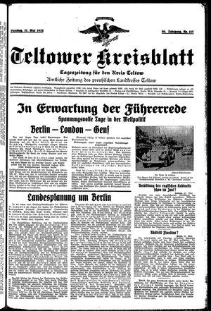 Teltower Kreisblatt vom 21.05.1935