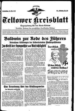 Teltower Kreisblatt on May 23, 1935