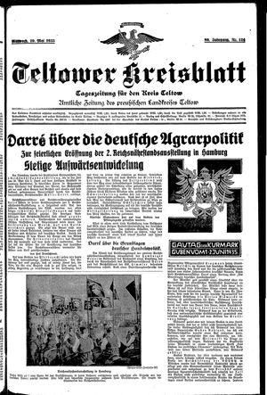 Teltower Kreisblatt vom 29.05.1935