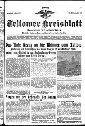 Teltower Kreisblatt vom 08.06.1935