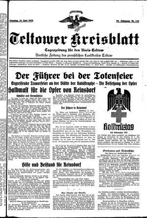 Teltower Kreisblatt vom 18.06.1935