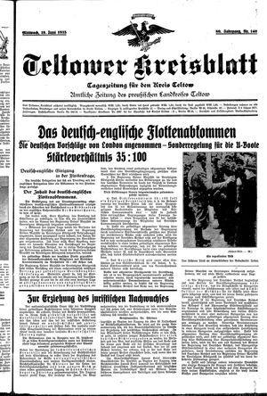Teltower Kreisblatt vom 19.06.1935
