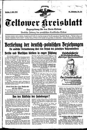 Teltower Kreisblatt vom 05.07.1935