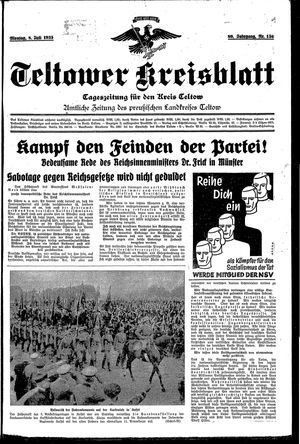 Teltower Kreisblatt vom 08.07.1935