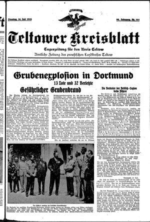 Teltower Kreisblatt vom 16.07.1935