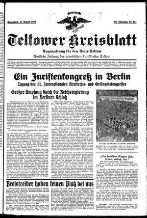 Teltower Kreisblatt vom 17.08.1935