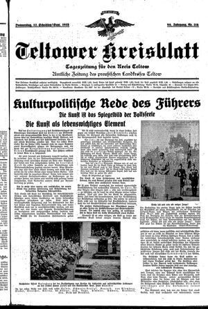 Teltower Kreisblatt on Sep 12, 1935