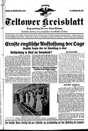 Teltower Kreisblatt on Sep 20, 1935