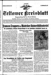 Teltower Kreisblatt (16.11.1936)