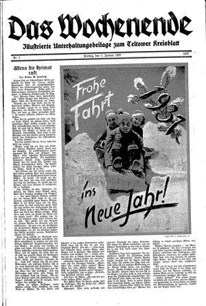 Teltower Kreisblatt vom 01.01.1937