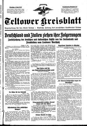 Teltower Kreisblatt on Jun 1, 1937