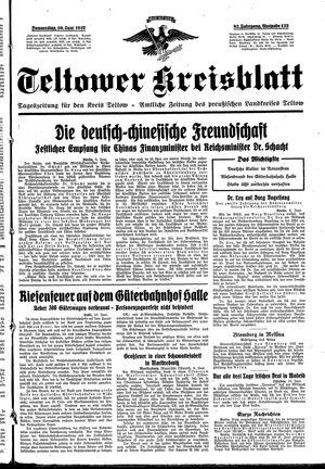 Teltower Kreisblatt on Jun 10, 1937