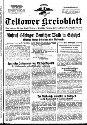 Teltower Kreisblatt vom 12.06.1937