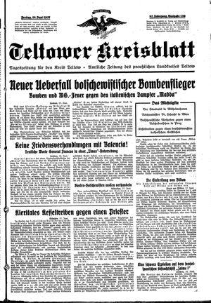 Teltower Kreisblatt vom 18.06.1937