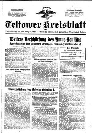 Teltower Kreisblatt vom 02.07.1937