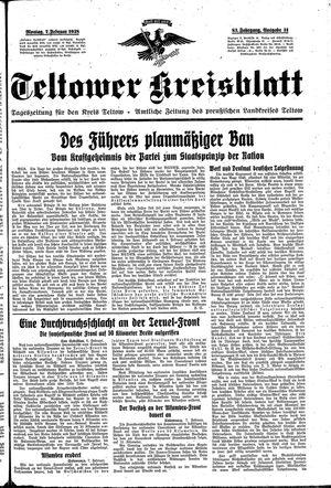 Teltower Kreisblatt vom 07.02.1938