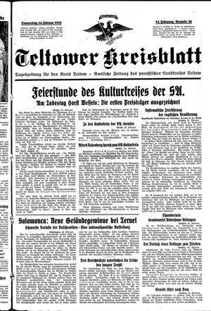 Teltower Kreisblatt on Feb 24, 1938