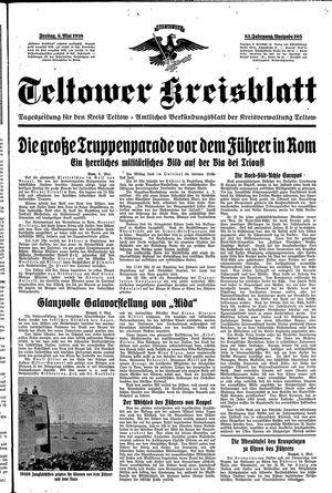 Teltower Kreisblatt on May 6, 1938