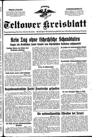 Teltower Kreisblatt vom 08.06.1938