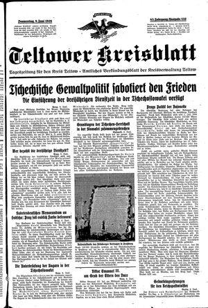 Teltower Kreisblatt vom 09.06.1938