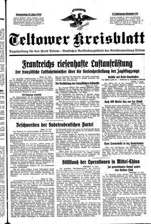 Teltower Kreisblatt vom 16.06.1938