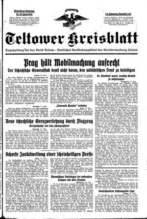 Teltower Kreisblatt vom 18.06.1938