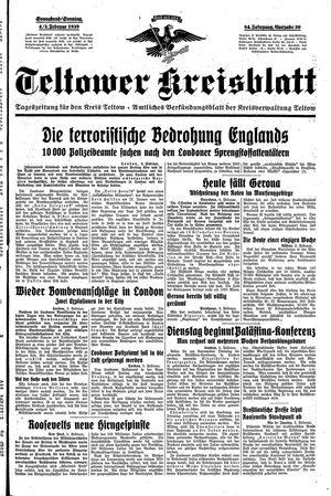 Teltower Kreisblatt vom 04.02.1939