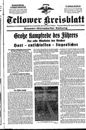 Teltower Kreisblatt on Jan 31, 1942