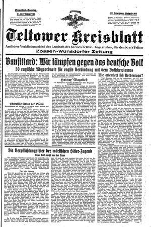 Teltower Kreisblatt vom 21.03.1942