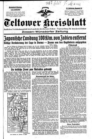 Teltower Kreisblatt vom 04.04.1942