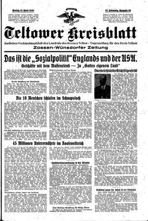 Teltower Kreisblatt vom 17.04.1942