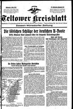 Teltower Kreisblatt on May 6, 1942