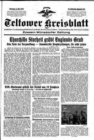 Teltower Kreisblatt vom 12.05.1942