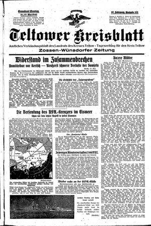 Teltower Kreisblatt vom 16.05.1942