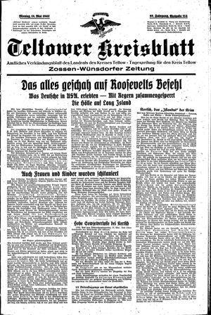 Teltower Kreisblatt vom 18.05.1942