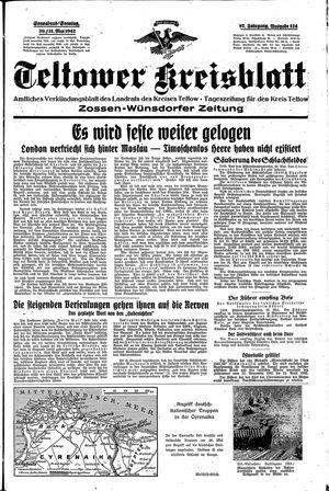 Teltower Kreisblatt vom 30.05.1942