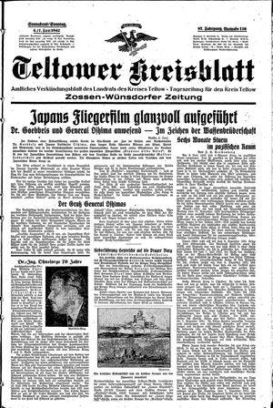 Teltower Kreisblatt vom 06.06.1942