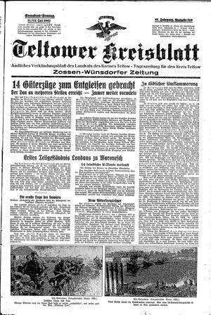 Teltower Kreisblatt vom 11.07.1942