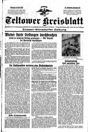 Teltower Kreisblatt on Jul 20, 1942