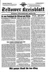 Teltower Kreisblatt (28.01.1943)