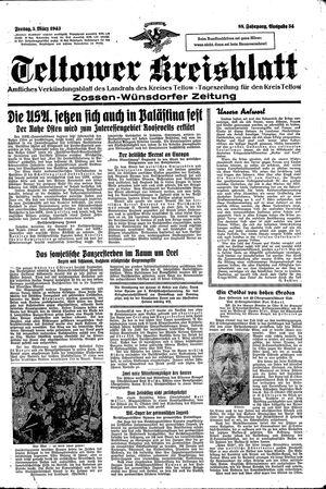 Teltower Kreisblatt vom 05.03.1943