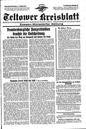 Teltower Kreisblatt vom 06.03.1943