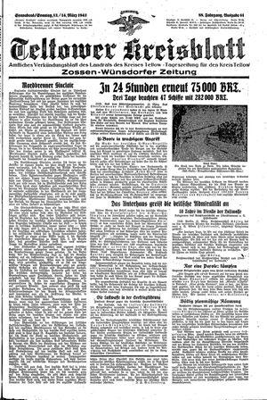 Teltower Kreisblatt vom 13.03.1943