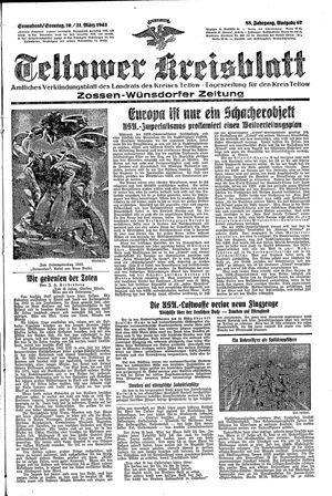 Teltower Kreisblatt vom 20.03.1943