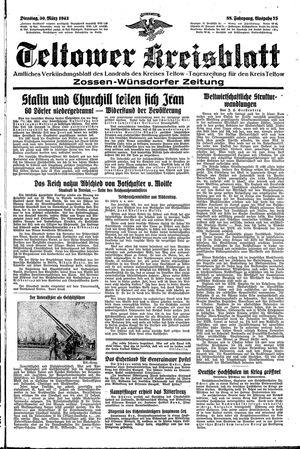 Teltower Kreisblatt vom 30.03.1943
