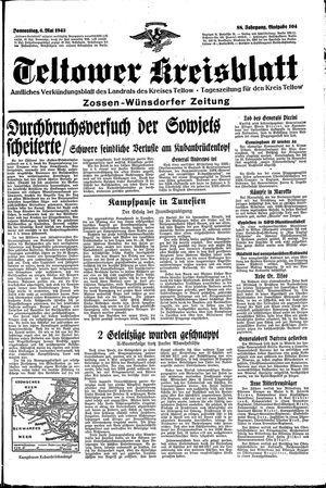 Teltower Kreisblatt vom 06.05.1943